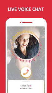 screenshot of HOLLA: Live Random Video Chat, Meet New People version 4.2.4