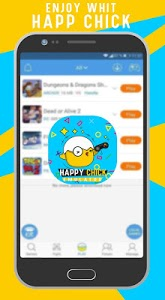 screenshot of Happy Chick Emu version 100,000+