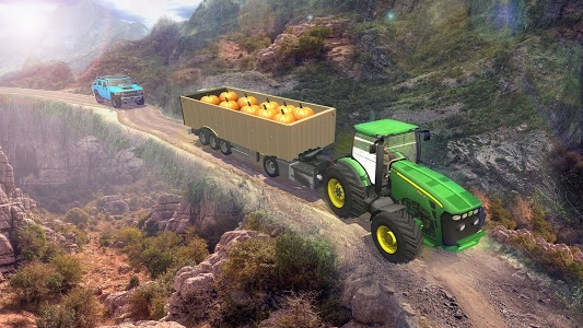 screenshot of Heavy Tractor Trolley Cargo:Rural Farmer Simulator version 1.3