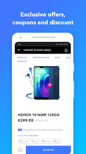 screenshot of Honor Store version Varies with device