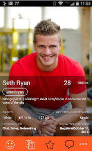 screenshot of Hornet - Gay Chat & Dating version 2.1.12