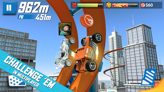 screenshot of Hot Wheels: Race Off version 1.1.11648