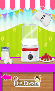 screenshot of Ice Cream Maker Cooking Games version 12.7