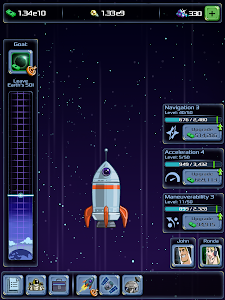 screenshot of Idle Tycoon: Space Company version 1.2.1