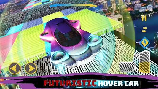 screenshot of Impossible Tracks 2049 : Hover Car version 1.0.4