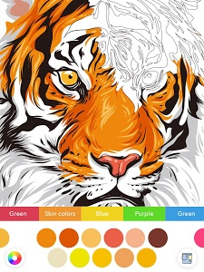 screenshot of InColor - Coloring Books 2018 version Varies with device
