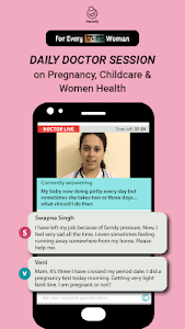 screenshot of Indian Women App: Healofy version 3.0.7.21