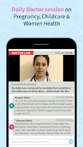 screenshot of Indian Women, Pregnancy & Childcare Community version 3.0.6.38