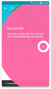 screenshot of Free WiFi Passwords and Hotspot map by Instabridge version Varies with device