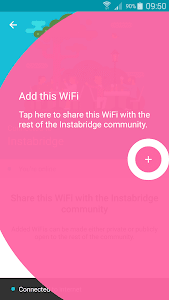 screenshot of Instabridge - Free WiFi Passwords and Hotspots version 8.8.4