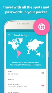 screenshot of Instabridge - Free WiFi version 8.8.4