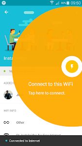 screenshot of Instabridge - Free WiFi version 8.4.9c