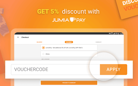 screenshot of JUMIA Online Shopping version 5.10.2