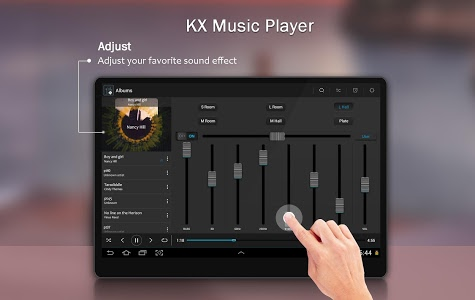 screenshot of KX Music Player version 1.4.5