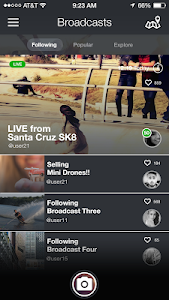 screenshot of Peeks Social version 6.2.15692