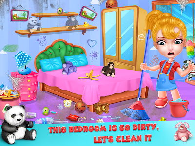 screenshot of Keep Your House Clean - Girls Home Cleanup Game version 1.2.7