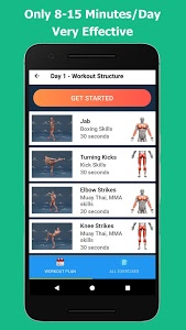 screenshot of Kickboxing - Fitness and Self Defense version 1.0.7