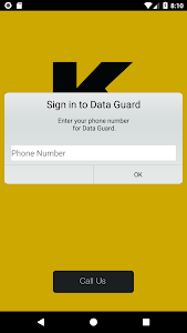 screenshot of Kiewit Data Guard version 2.4.005