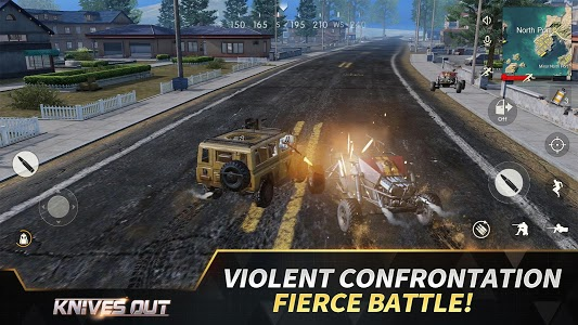 screenshot of Knives Out-No rules, just fight! version 1.231.439441