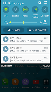 screenshot of LIVE Score version Varies with device