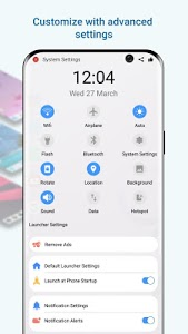 screenshot of Launcher Galaxy S10 Style version 4.5