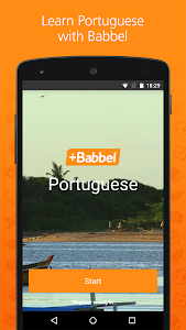 screenshot of Babbel – Learn Portuguese version Varies with device