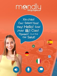 screenshot of Learn 33 Languages Free - Mondly version Varies with device