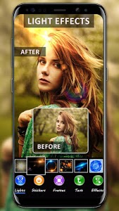 screenshot of Light Photo editor – Light effect version 1.1