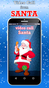 screenshot of Live Santa Claus Video Call version 21.0