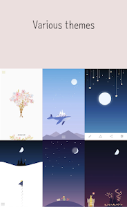 screenshot of Luna Diary-journal on the moon version 1.3.8.5
