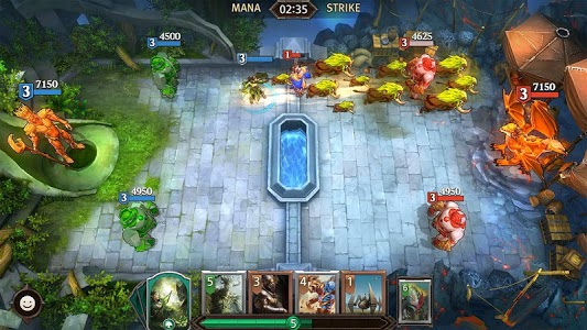 screenshot of Magic: ManaStrike version 1.4.0