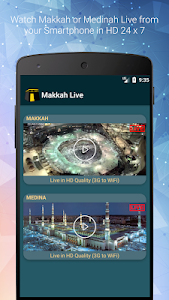 screenshot of Makkah Live & Madinah TV Streaming - Kaaba TV version 1.7_v17