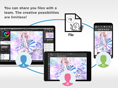 screenshot of MediBang Paint - Make Art ! version 15.0.1
