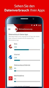 screenshot of MeinVodafone version 4.6