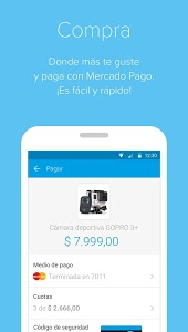 screenshot of Mercado Pago version 1.13.5