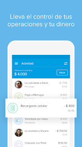 screenshot of Mercado Pago: recargar saldo y pagar cuentas version 2.45.10