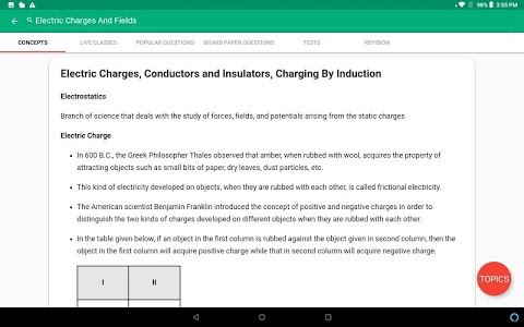 screenshot of Meritnation - CBSE ICSE & More version 8.2.107