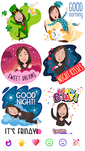 screenshot of Mirror Avatar Maker & Emoji Sticker Keyboard version 1.16.37