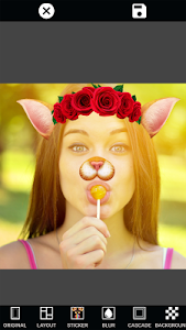 screenshot of Mirror Images Collage Maker: Selfie & Photo Editor version 1.6.4