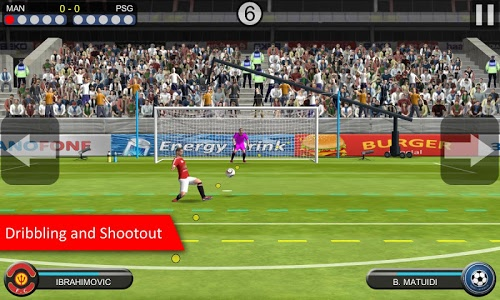 screenshot of Mobile Kick version 1.0.26