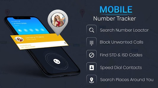 screenshot of Mobile Number Location Tracker version 1.4