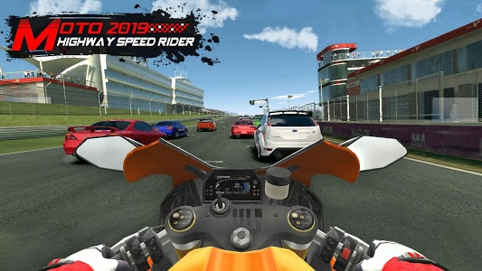 screenshot of Moto 2019 - Highway Speed Rider version 1.1.2