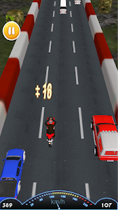 screenshot of Moto Bike Highway Race version 1.0