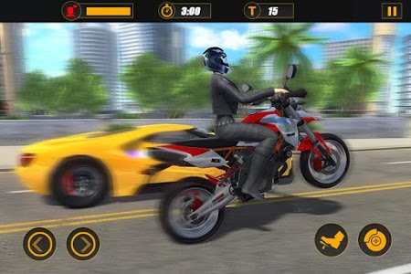 screenshot of Moto Pizza Delivery version 1.0