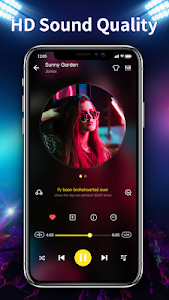 screenshot of Music Player - 10 Bands Equalizer Audio Player version 1.1.2