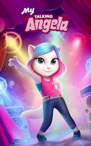screenshot of My Talking Angela version 4.4.2.570