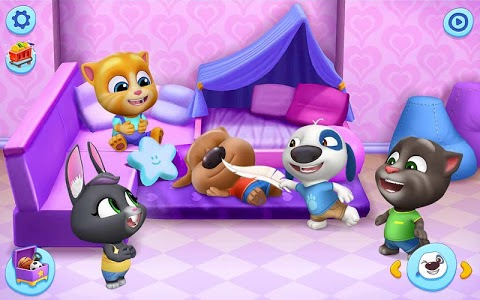 screenshot of My Talking Tom Friends version 1.0.5.1451