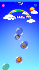 screenshot of My baby Game (Bubbles POP!) version 2.10.2814