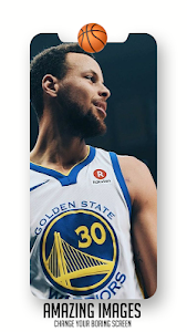 screenshot of NBA Wallpaper HD version 1.0