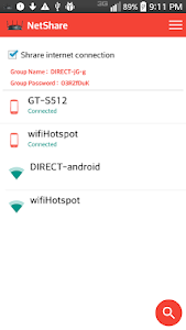 screenshot of NetShare-no-root-tethering version 2.9.1
